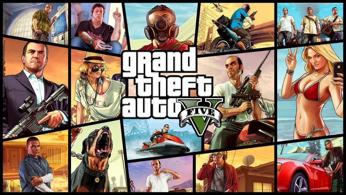 Grand Theft Auto 5 lfg