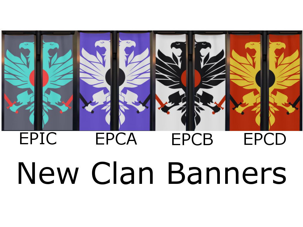 Epic clan baners for d2