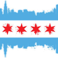 Main white chicago flag mike maher