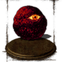 Main red eye orb