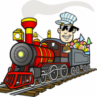 Main the candy train