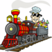 Thumb the candy train