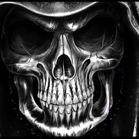 Main skull tattoo