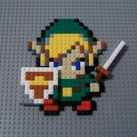 Main 8 bit lego toon link