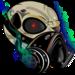 Thumb crew skull emblem