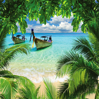 Main tropical beach wallpaper 10287552