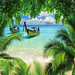 Thumb tropical beach wallpaper 10287552