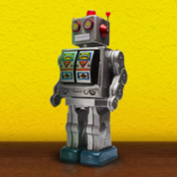 Main mello yello robot