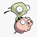 Thumb 147 1475478 gir invader zim pig iphone invader zim gir