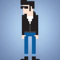 Main pixel character