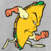 Thumb taco man superhero design  1