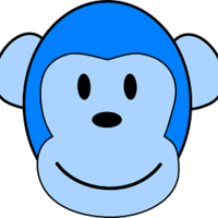 Main very blue monkey hi