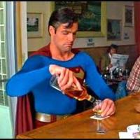 Main drunk superman