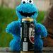 Thumb cookie monster beer