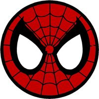 Main spider man logo circle 144773