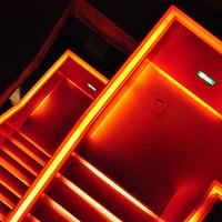 Main orange stair