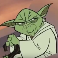 Main yoda frustrated