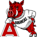 Thumb leaning hog