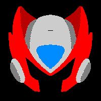 Main megaman  zero helmet  by boffering dawvfrr