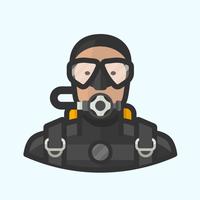 Main scuba diver avatar