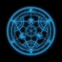 Main transmutation circle by xiena