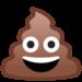 Thumb poop emoji