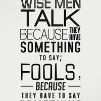 Main wise men talk