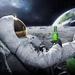 Thumb astronaut drinking carlsberg on moon hd desktop wallpaper 841