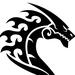 Thumb dragon profile right