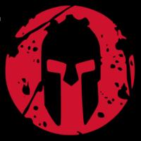 Main spartan logo black background
