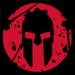 Thumb spartan logo black background
