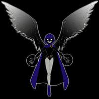 Main teen titans  raven by tresmaxwell