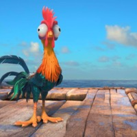 Main the breakout star of disneys moana was almost a totally different character