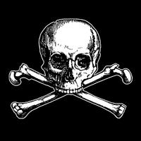 Main skull black
