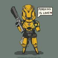 Main titan punch is love