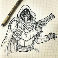 Main hunter from destiny by koboneart d8jawce
