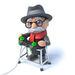 Thumb d grandpa loves playing video games render old man walking frame videogame 42550604