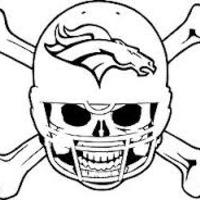 Main broncos skull