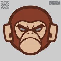 Main monkey head logo