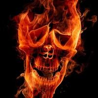 Main fire skull