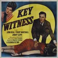 Main key witness movie poster 1960 1010681803